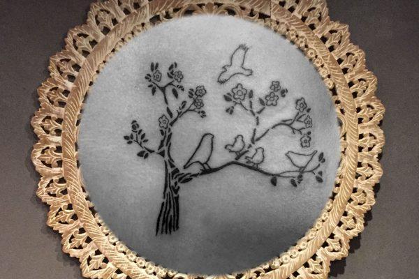 Onderrug tatoeage