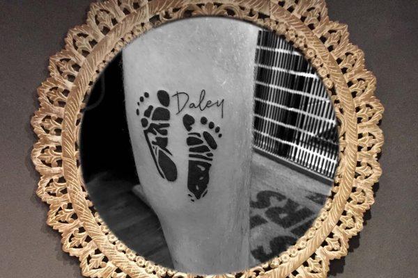 Linker onderbeen tatoeage