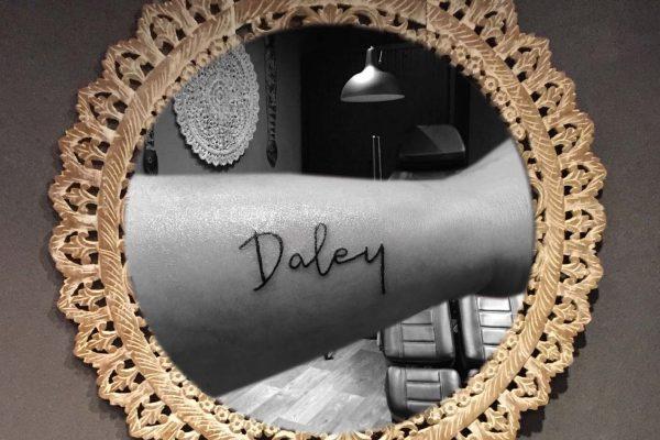 Rechter pols tatoeage